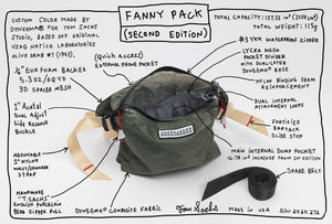 Fanny Pack Second Edition (Olive Drab)