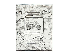 Load image into Gallery viewer, Motorcycle Trip Zine  (re-issue)