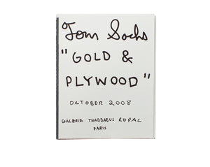 Gold and Plywood Zine