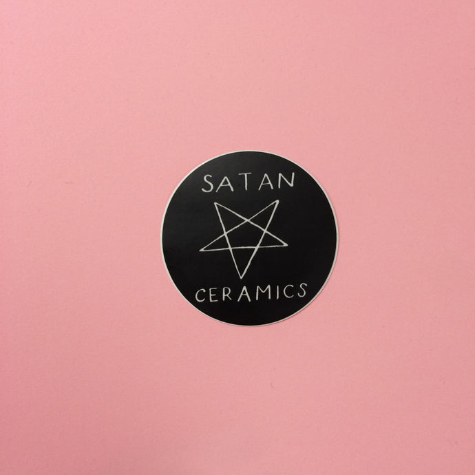 Satan Ceramics Sticker