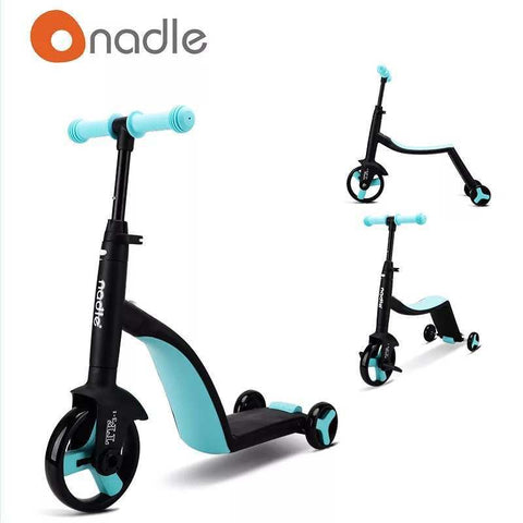 3-in-1 Kids Cart (Blue)