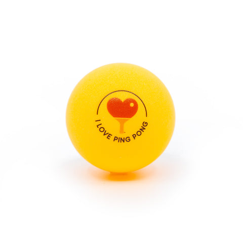 I Love Ping Pong Ball - Orange