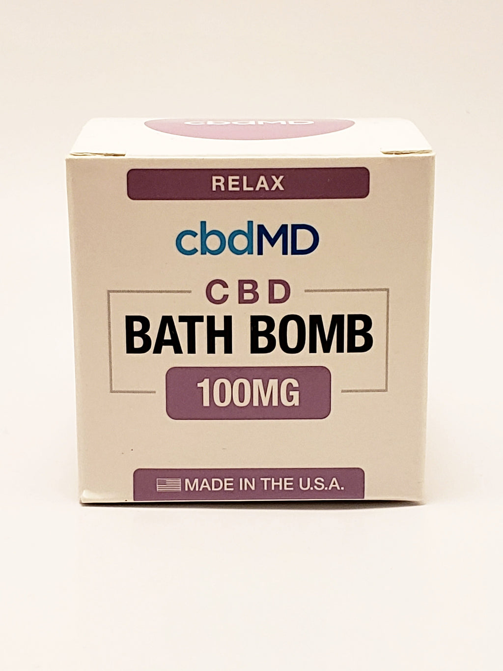 Bath Bomb 100 mg CBD - Relax (Lavender) - CBD Central