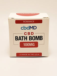 Bath Bomb 100 mg CBD - Romance (Frankincense) - CBD Central