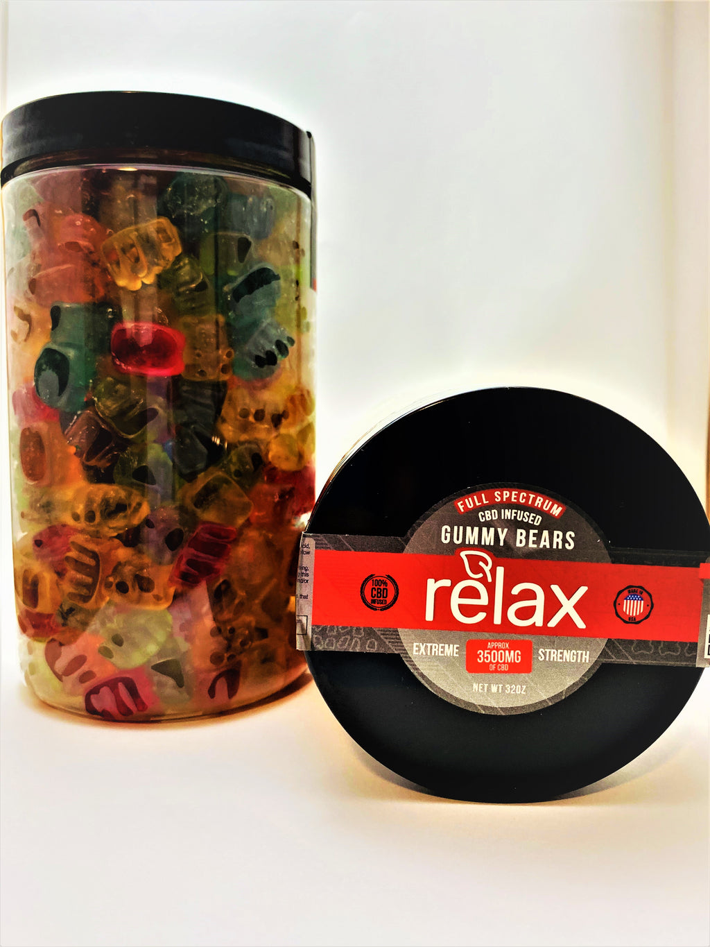 Full Spectrum Relax 3500 mg Gummy Bears - CBD Central
