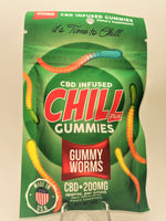Chill Plus - Gummy Worms 200 mg - CBD Central