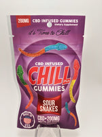Chill Plus - Sour Snakes 200 mg - CBD Central