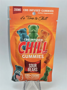 Chill Plus - Sour Bears 200 mg - CBD Central