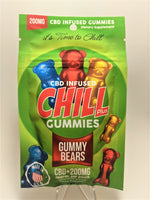 Chill Plus - Gummy Bears 200 mg - CBD Central