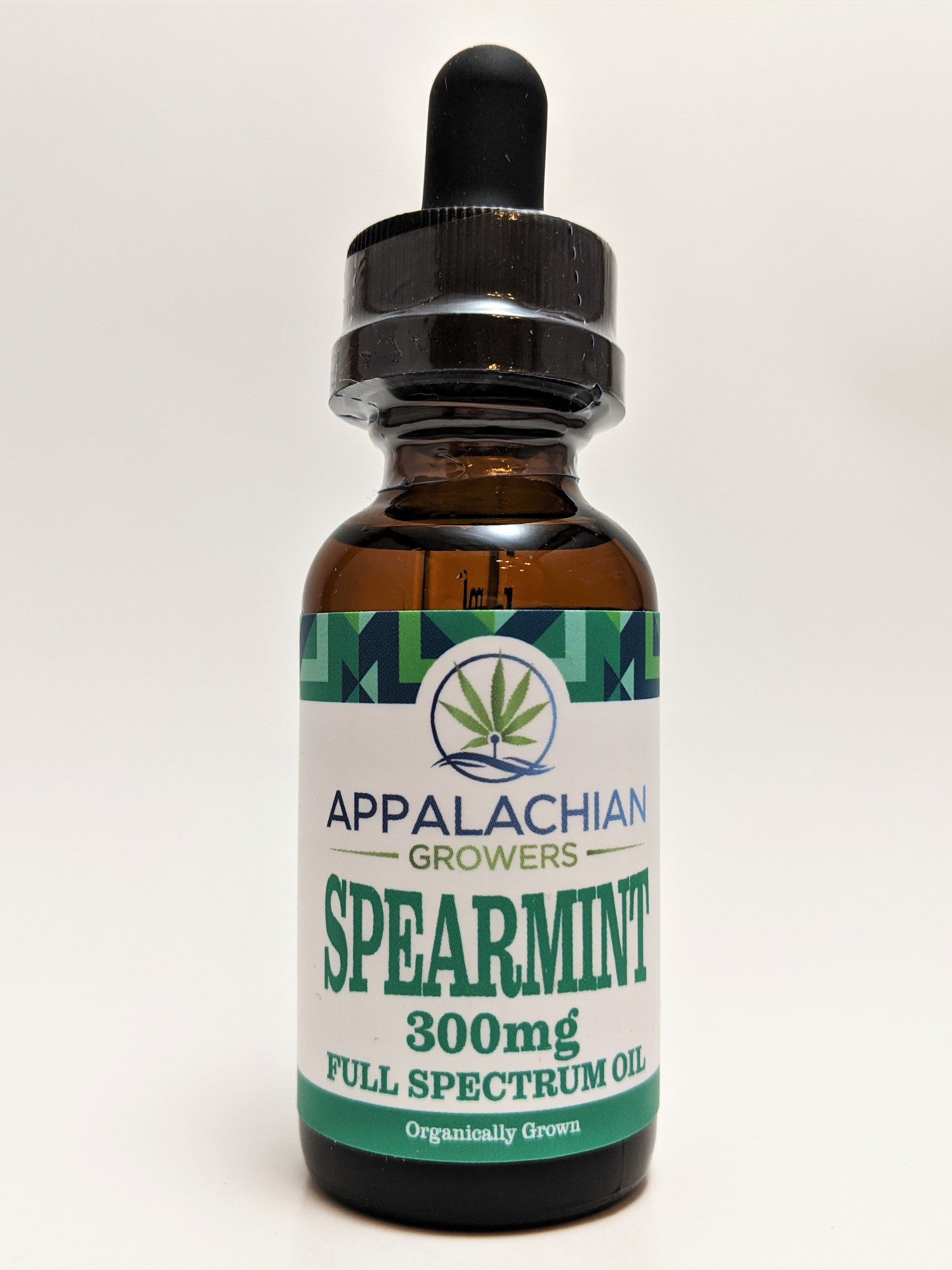 Appalachian Growers 300 mg Full Spectrum Oil - Spearmint - CBD Central