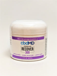 Recover Cream 300 mg (2 ounces) - CBD Central