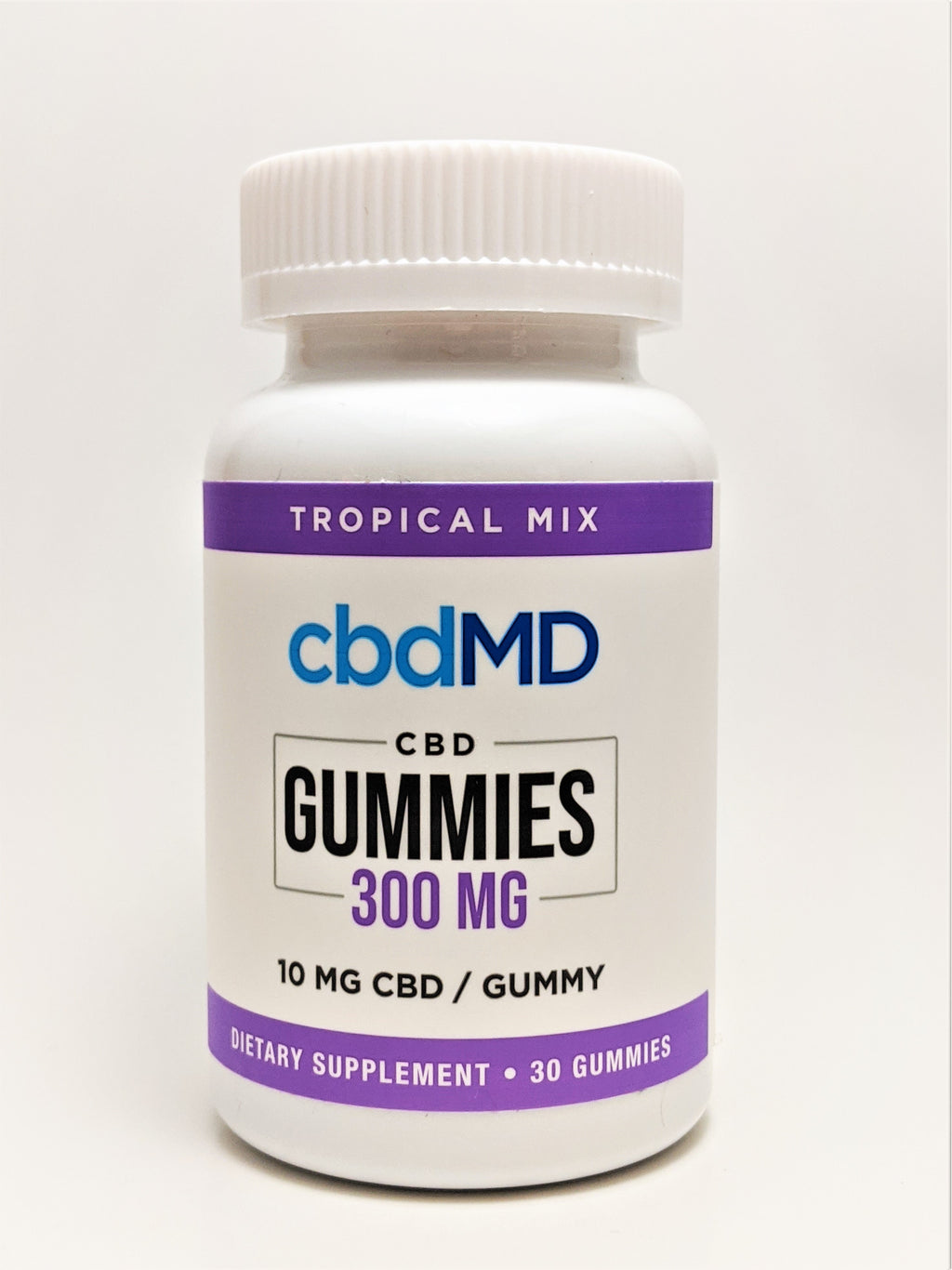 Gummies 300 mg - Orange, Strawberry, Tropical, and Raspberry Flavors - CBD Central