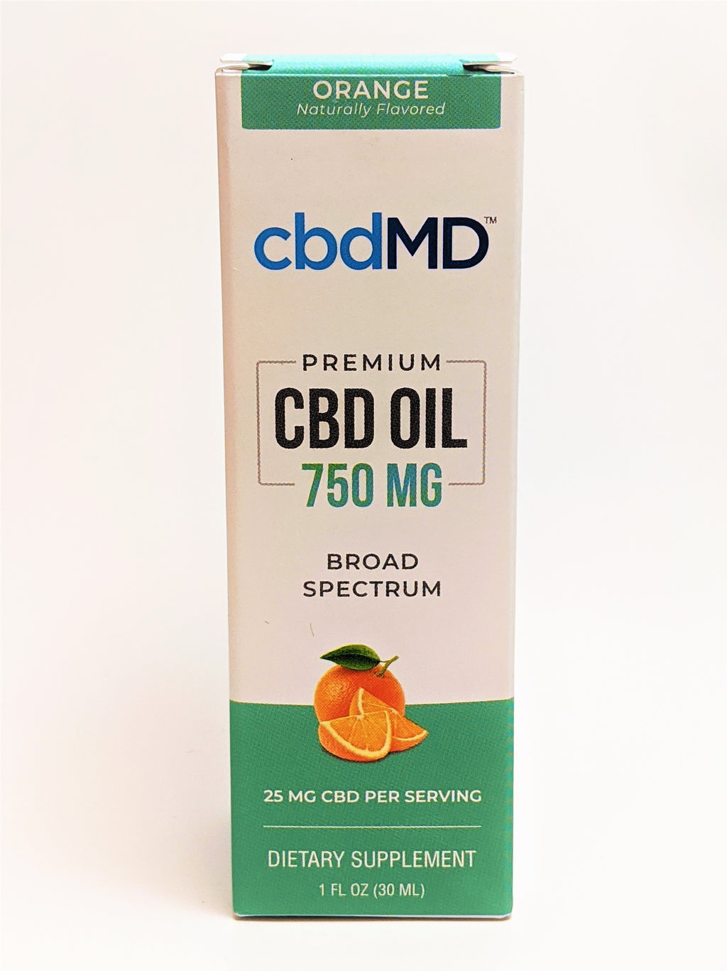 cbdMD 750 mg Oil - Orange Flavor - CBD Central