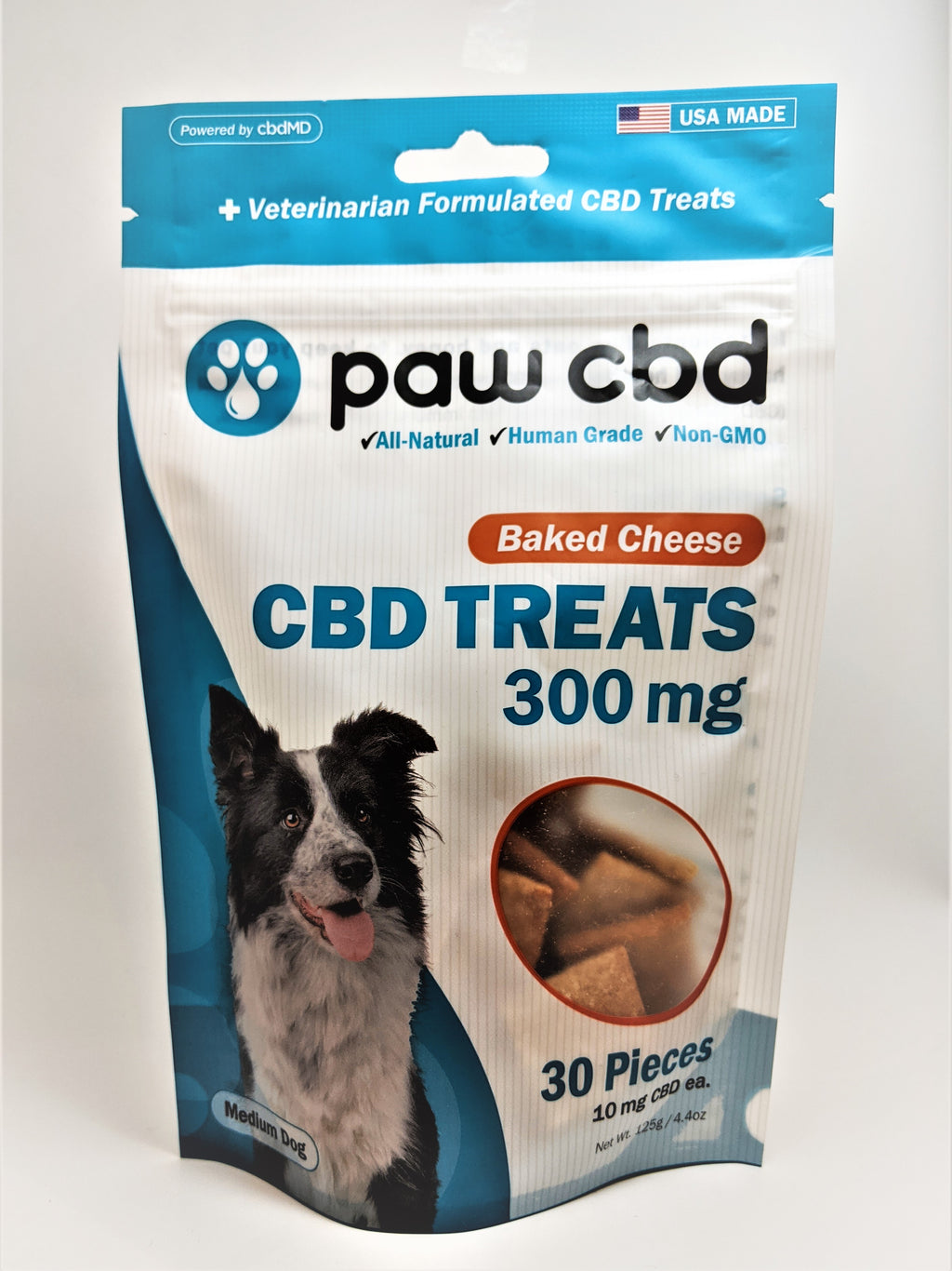 Dog Treats 300 mg (Baked Cheese Flavor) - CBD Central