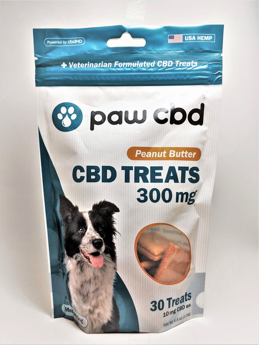 Dog Treats 300 mg (Peanut Butter Flavor) - CBD Central
