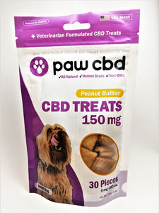 Dog Treats 150 mg (Peanut Butter Flavor) - CBD Central