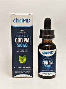 cbdMD PM 500 mg Oil - CBD Central