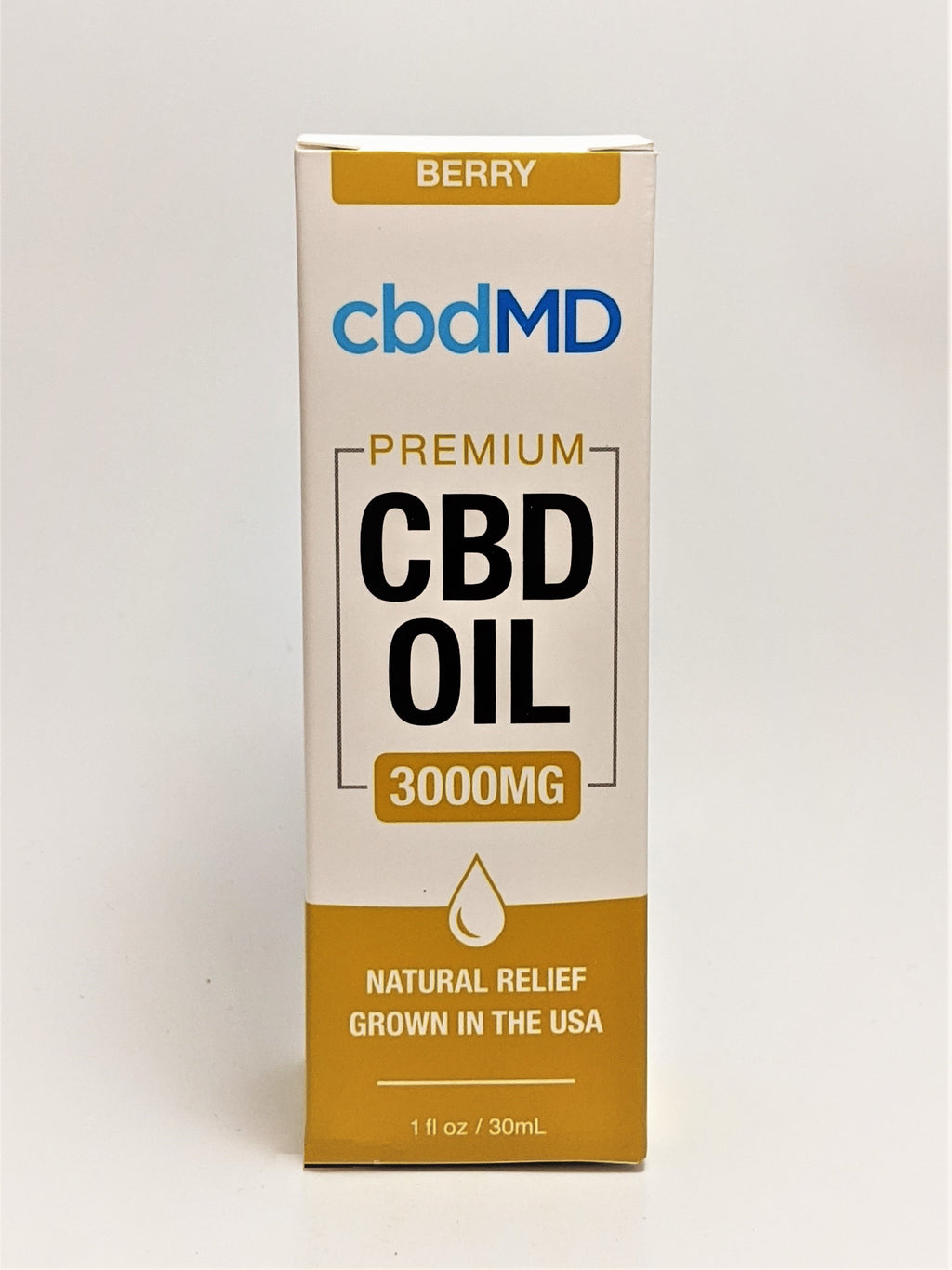 cbdMD 3000 mg Oil - Berry Flavor - CBD Central