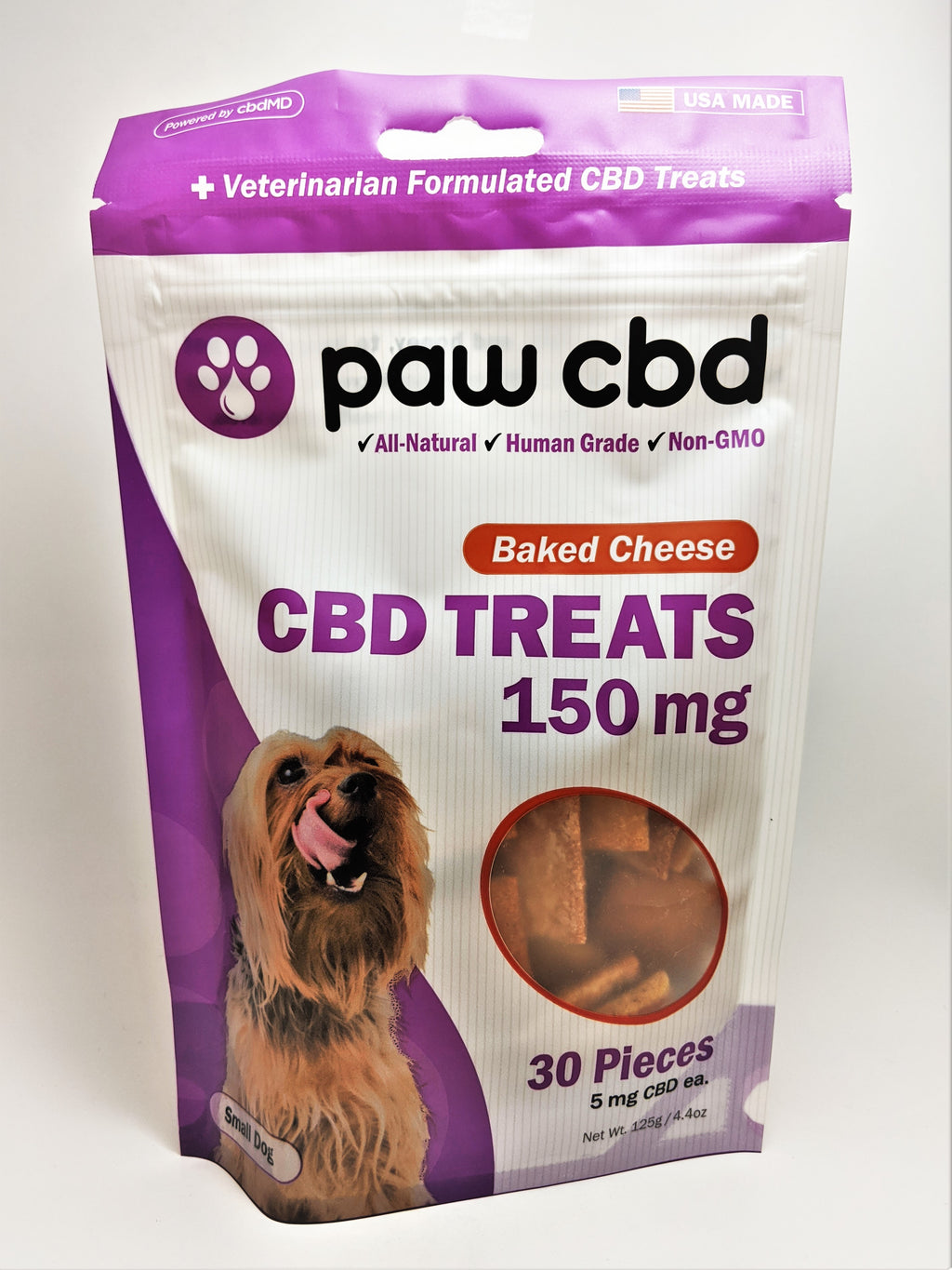 Dog Treats 150 mg (Baked Cheese Flavor) - CBD Central