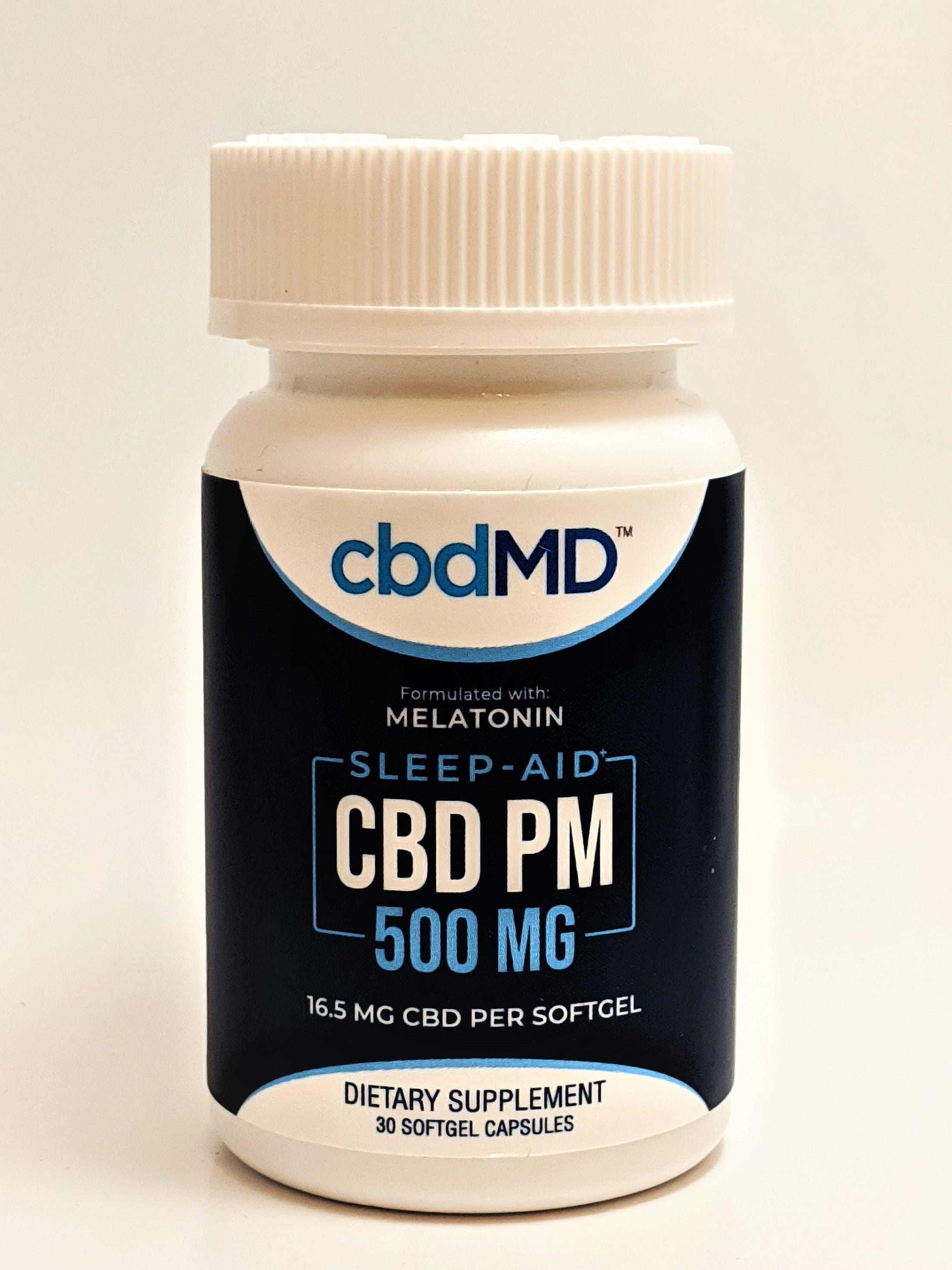 16.5 mg Softgel Capsules, 30 Count (500 mg CBD) - CBD Central