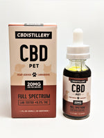 Full Spectrum Pet Oil 600 mg - CBD Central