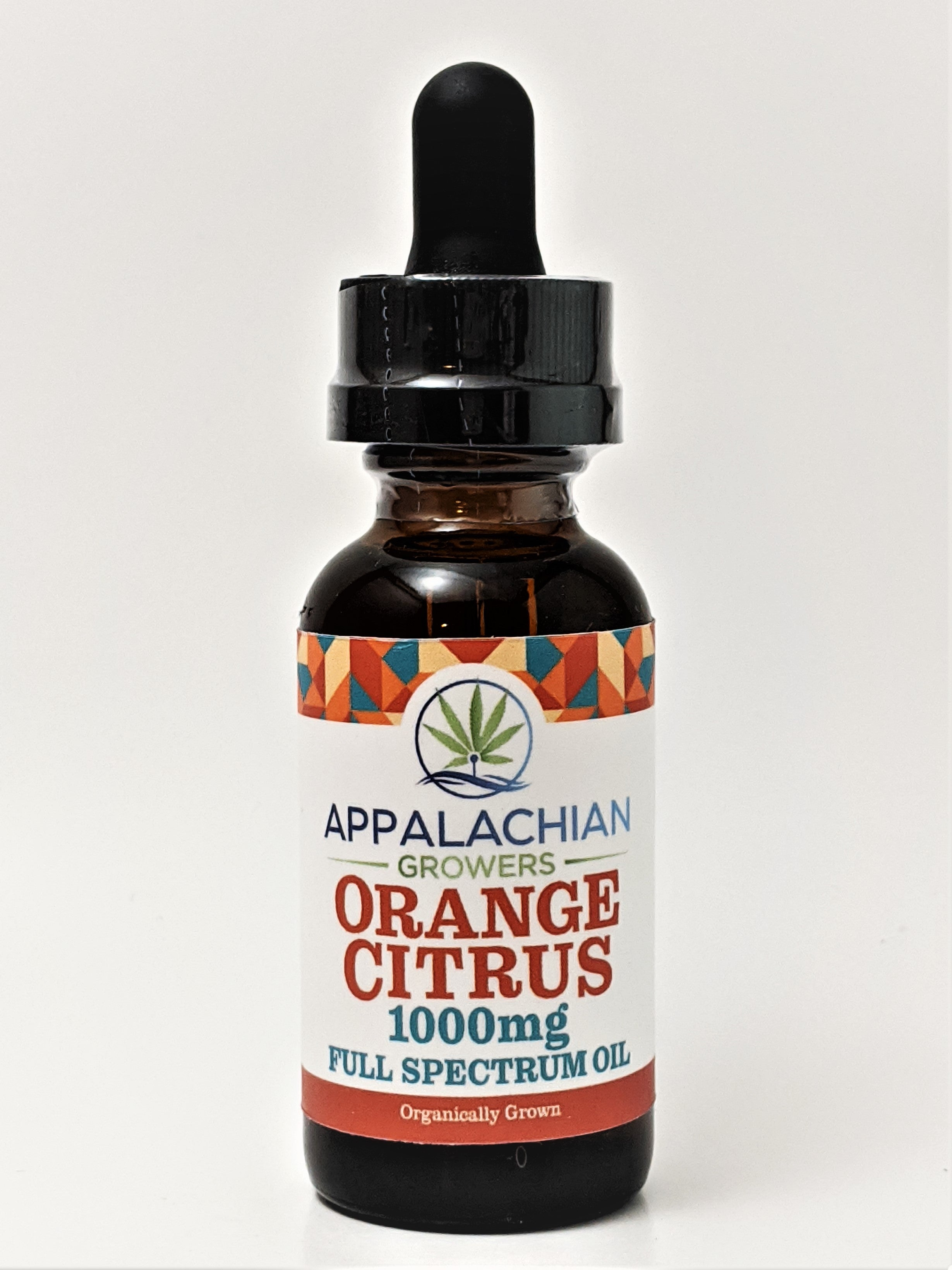 Appalachian Growers 1,000 mg Full Spectrum Oil - Orange Citrus - CBD Central
