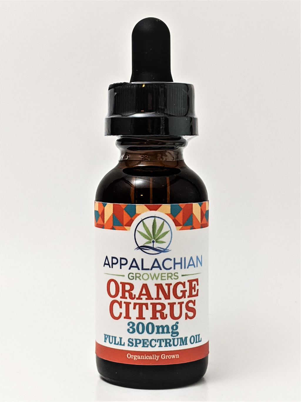 Appalachian Growers 300 mg Full Spectrum Oil - Orange Citrus - CBD Central