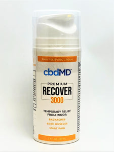 Recover Cream 3,000 mg 3.4 ounces