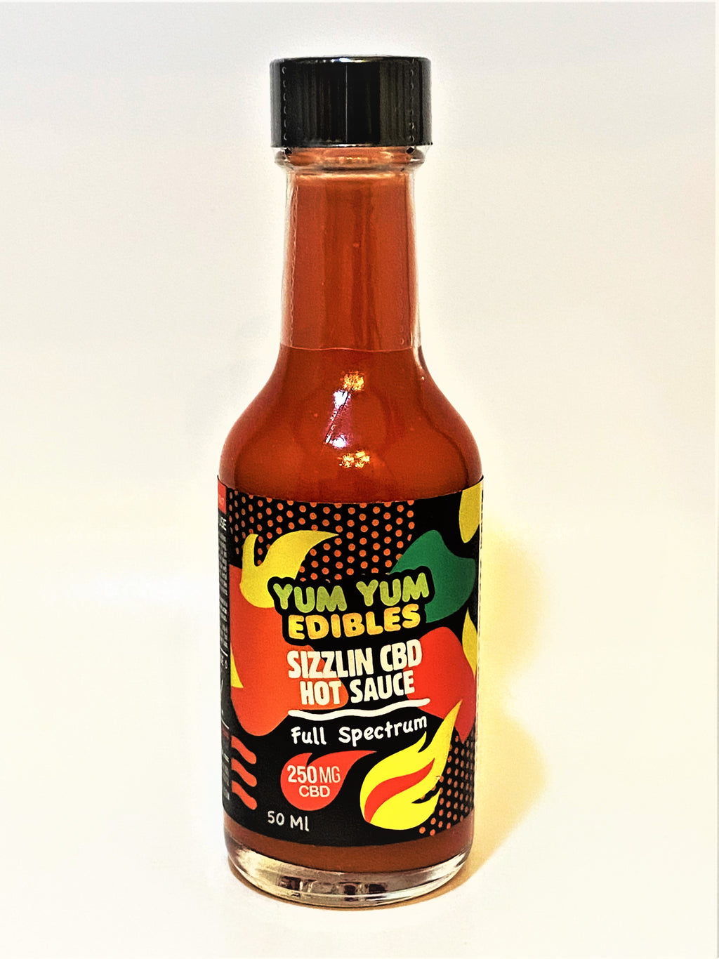 Sizzlin CBD Hot Sauce - 250mg Full Spectrum