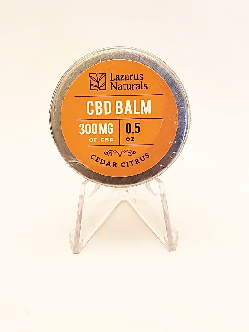CBD Balm 300 mg (Cedar Citrus) - CBD Central