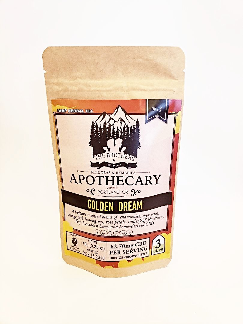 Golden Dream Tea - Brothers Apothecary - CBD Central