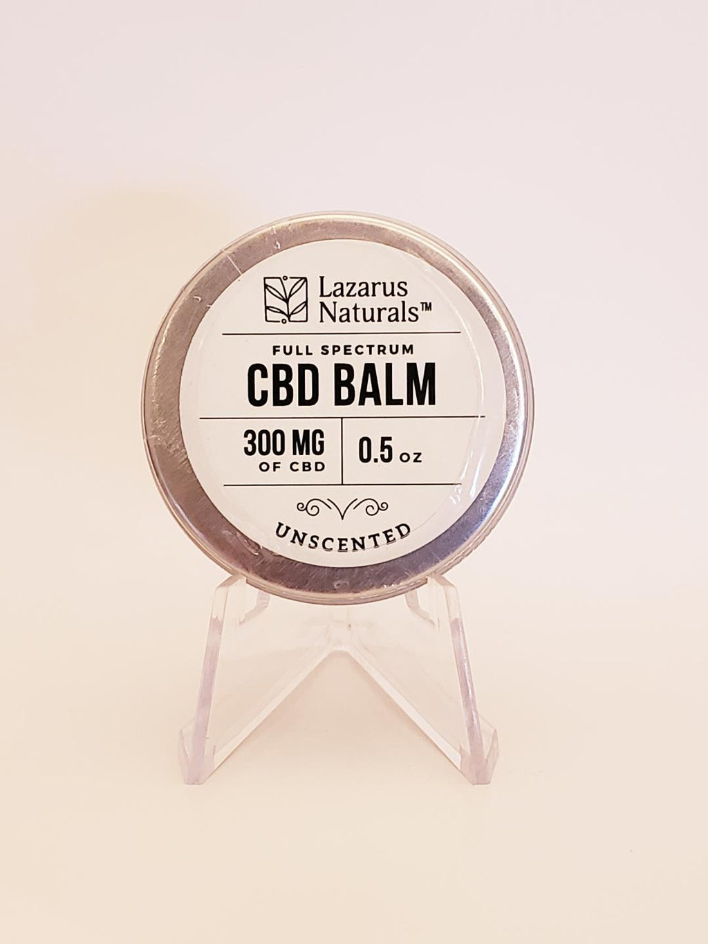 CBD Balm 300 mg (Unscented) - CBD Central