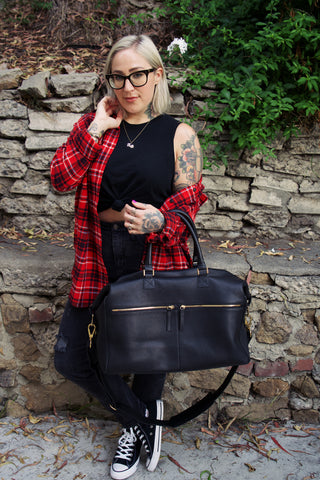 Audrey.blog.interview.ectu.black.hand.bag.weekend.palermo