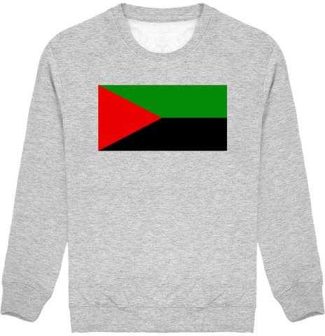 Sweat Enfant Col - Drapeau Martiniquais