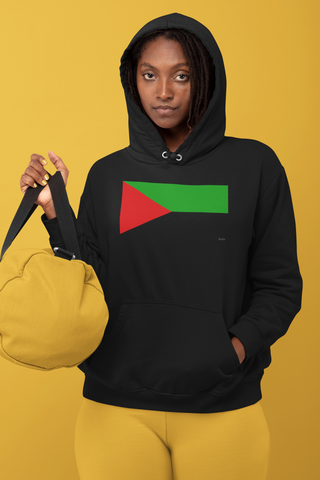 Sweat Femme à Capuche - Drapeau Martinique