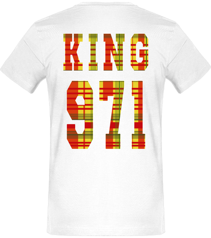 T-SHIRT | King & Queen 971 Madras