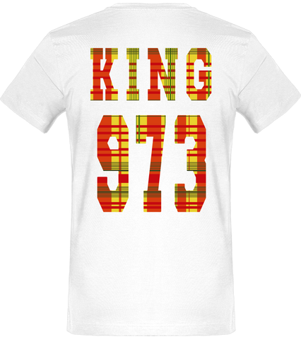 T-SHIRT | King & Queen 973 Madras