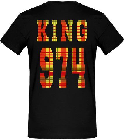 T-SHIRT | King & Queen 974 Madras