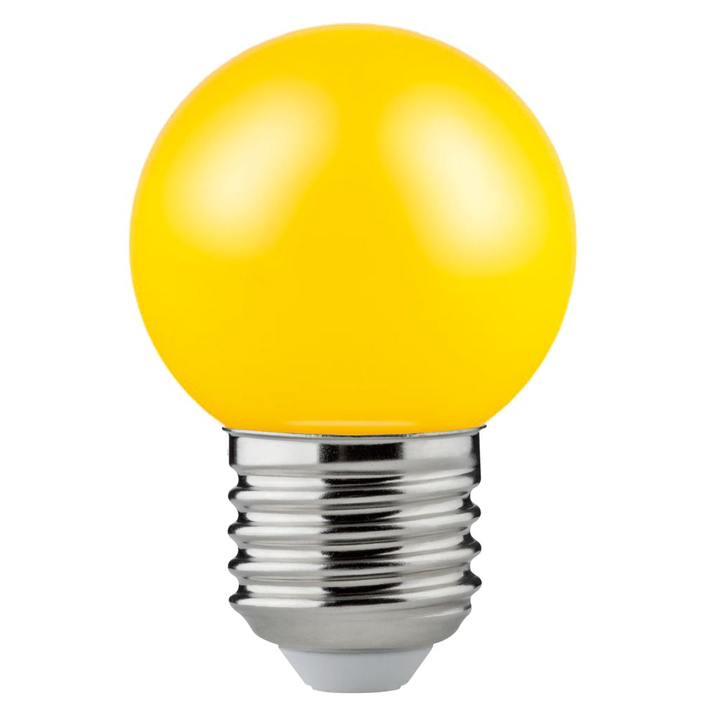 Foco P LED color Amarillo 1.2W de Osram