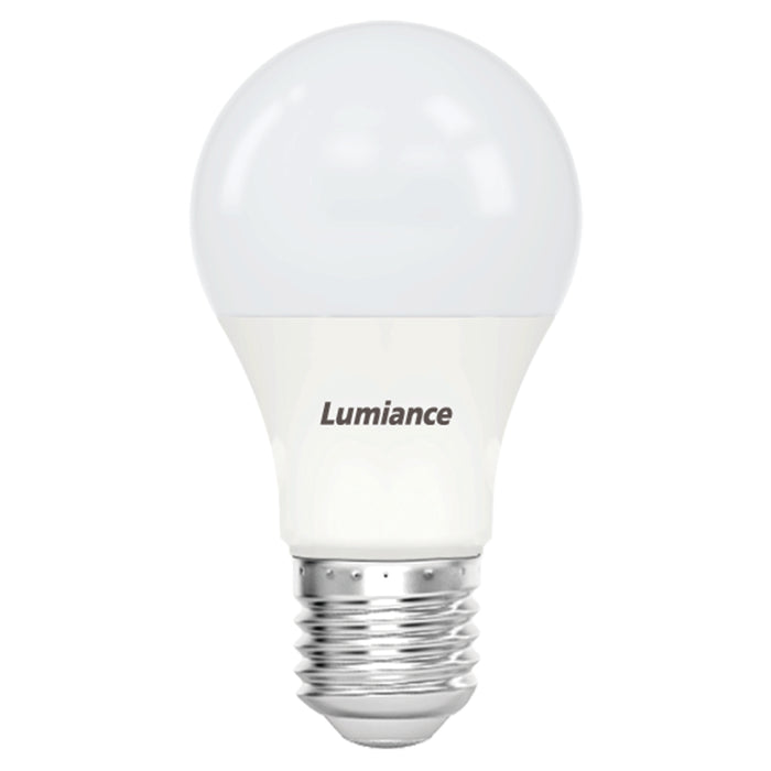 Foco LED A19 Eco Home GLS 12W 100-240V E26 marca Lumiance