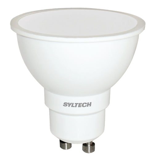 MR16 LED 6W 100-240V GU10 Frío marca Syltech
