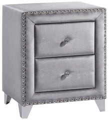 St. Claude Velvet Night Stand