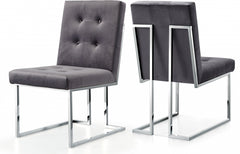 City Park Velvet Dining Chair