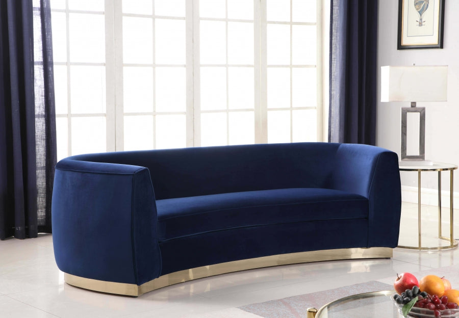 Decatur Velvet Sofa