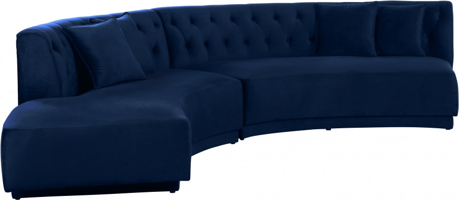 Velvet 2pc. Sectional