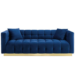Tufted Velvet Sofa