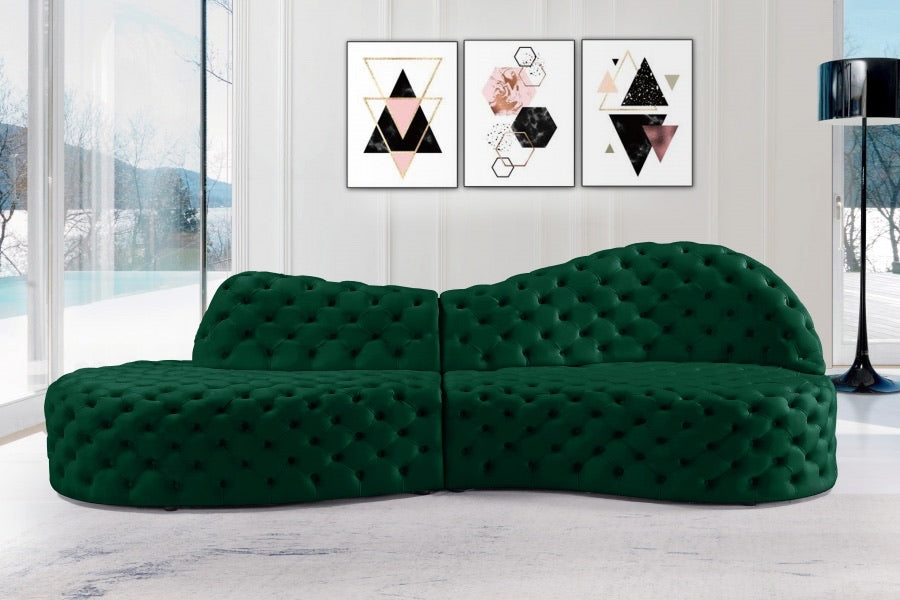 Royalty 2pc Sectional