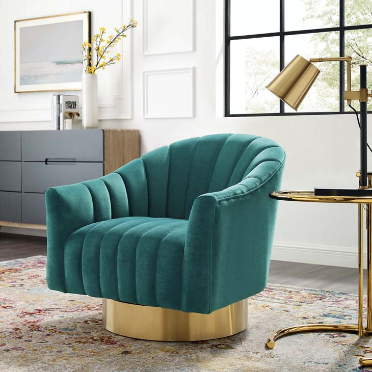 Tufted Lounge Chair