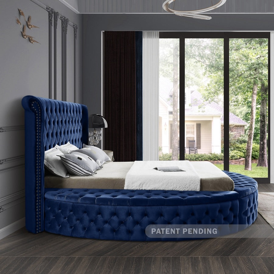 Round Baton Rouge Bed