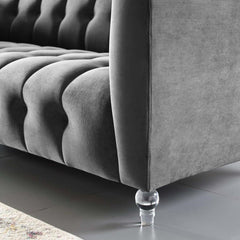 Tufted Acrylic Sofa